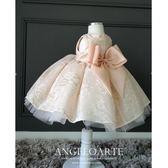 兒童公主裙蓬蓬裙小花童禮服寶寶生日晚禮服女童演出服婚紗裙春夏禮物限時八九折