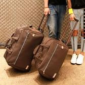 店長推薦新品雙肩拉桿背包萬向輪旅行包男女防水超輕可折疊行李箱旅行袋