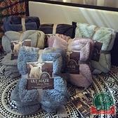 馬卡龍雙層羊羔絨毛毯加厚單人蓋毯【福喜行】