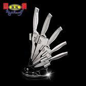 春佰億固鋼一體成型醫療級不鏽鋼刀六件組(刀具6件組) 調理刀 料理刀 廚刀 萬用刀+料理剪刀 420鋼