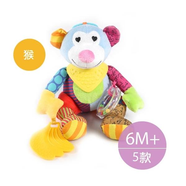 嬰幼兒 益智 玩具 可掛車玩具寶寶外出安撫玩具 手推車 嬰兒床 牙膠玩具 安全座椅【KA0131】