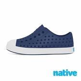 【南紡購物中心】【native】小童鞋 JEFFERSON 小奶油頭鞋-海軍藍x貝殼白