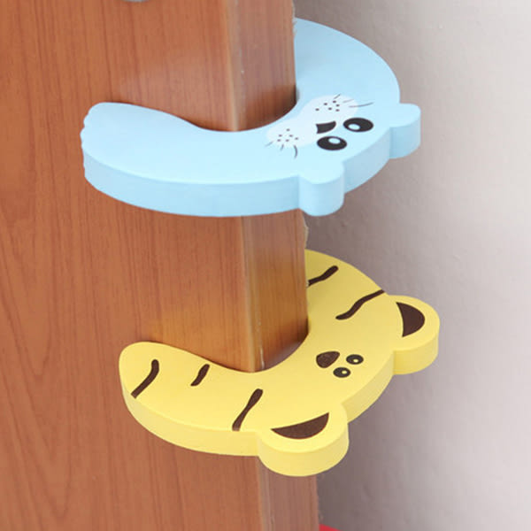 居家 兒童防夾安全門擋(2入) 造型門檔 防夾門卡【PMG178】123ok