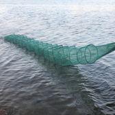 捕魚網折疊漁網魚網龍蝦網螃蟹籠泥鰍黃鱔籠捕蝦籠igo 夏洛特