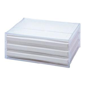 樹德SHUTER A4 橫式資料櫃DDH-103N 2入白色