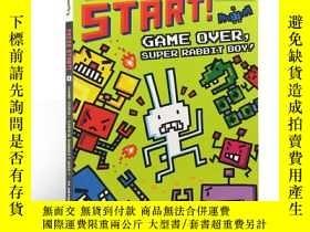 二手書博民逛書店Press罕見Start! Game Over, Super R