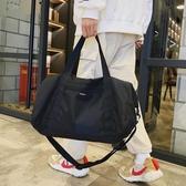 旅行包短途出差行李袋斜背包男潮牌大容量手提單肩包運動包包 - 風尚3C