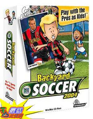 [美國直購 ShopUSA] Backyard Soccer 2004 by Atari $740