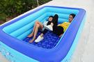 充氣泳池 兒童游泳池 充氣 家庭成人洗澡浴盆超大號游泳池 家用嬰兒池jy【限時折扣好康八折】
