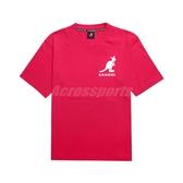 Kangol 短袖T恤 Printed Tee 紅 白 男款 袋鼠 短T 印花 運動休閒 【ACS】 6021101442