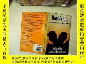 二手書博民逛書店Double罕見act : Ten one-act plays on five themes 雙幕:五個主題的十個