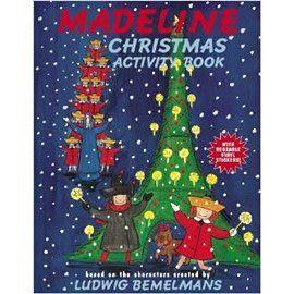 【麥克書店】MADELINE CHRISTMAS ACTIVITY BOOK #貼紙練習書