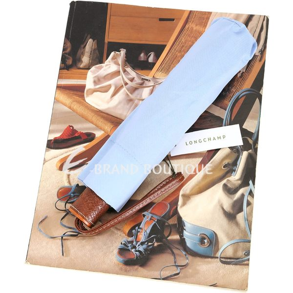 LONGCHAMP Le Pliage Micro 手動摺疊傘(水藍色) 1720471-27