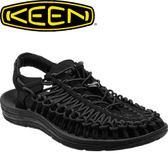 【KEEN 美國 女款 編繩涼鞋〈黑〉】1014099/編織涼鞋/涼鞋/休閒涼鞋★滿額送