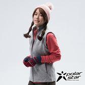 PolarStar 女 刷毛保暖背心『沙灰』P18244 戶外 休閒 登山 露營 保暖 禦寒 防風 刷毛