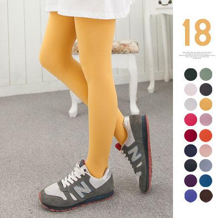 純色 120D 彈力 褲襪 素面款 18色 全身內搭褲 連褲襪 小資女 必備