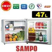 SAMPO 聲寶 SR-A05 小冰箱系列 精緻網架與置物門欄 耐燃級背板 公司貨 ※運費另計(需加購)