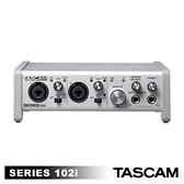 【日本TASCAM】SERIES 102I 錄音介面10 IN/2 OUT USB Audio / MIDI 公司貨
