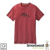 【SmartWool 美國 男 Merino Sport 150 野性山脈T恤《藏紅》】SW000796/排汗衣/ 機能衣