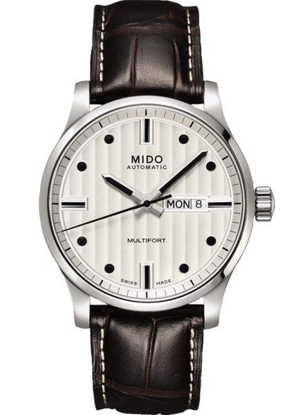 MIDO美度錶Multifort 自動機械皮帶男錶(M0054301603180)42mm