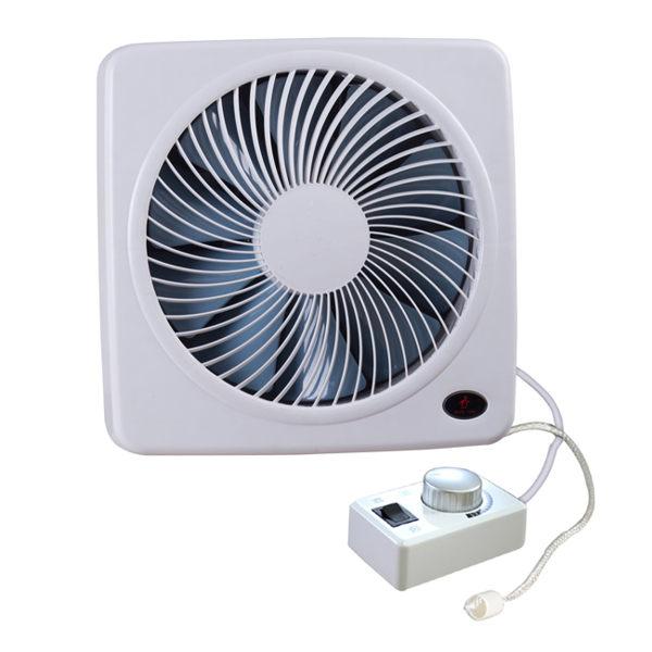 【艾來家電】勳風14吋變頻DC旋風式節能吸排扇 / 百葉窗型 / 排風扇 HF-B7214