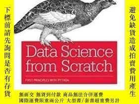 二手書博民逛書店Data罕見Science From Scratch-數據科學從無到有Y436638 Joel Grus O