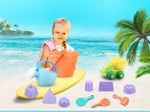 兒童沙灘玩具套裝鏟子水桶寶寶挖沙挖土女孩玩沙子工具男孩1-3歲2