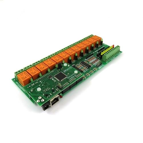 [2美國直購] denkovi 中繼板 Internet/Ethernet Relay Board 12 Channel with DAEnetIP4 I/O, SNMP, Web
