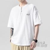 短袖男士體恤2020新款t桖韓版潮流純棉休閒打底衫寬鬆百搭上衣服 衣櫥秘密