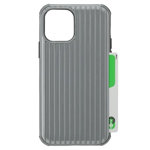 【A Shop】Gramas iPhone 12/12 Pro 6.1吋 專用行李箱外觀設計雙材質手機保護殼 背蓋 防震