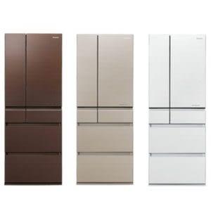 無贈品【國際牌】600L六門冰箱-翡翠白 NR-F603HX-W1