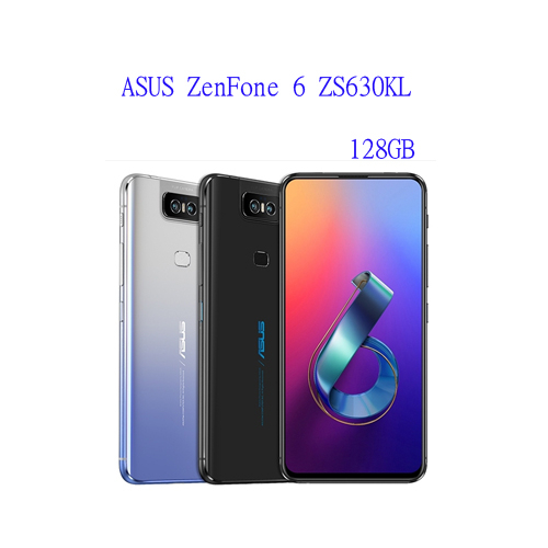 ASUS ZenFone 6 ZS630KL 6.4 吋 128G  翻轉相機設計 獨立三卡插槽 5000mAh 電量【3G3G手機網】