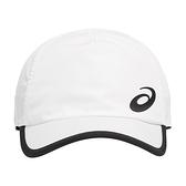 Asics Cap [3043A022-100] 慢跑帽 鴨舌帽 棒球帽 防曬 遮陽 運動 休閒 亞瑟士 白