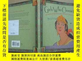 二手書博民逛書店Girls罕見Who Choose God (12開精裝彩圖)Y