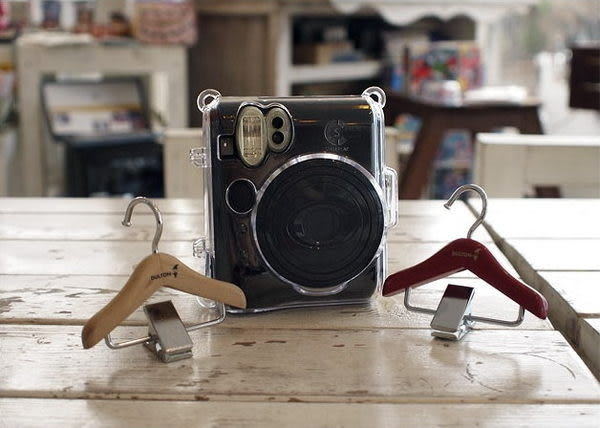 BaiBaiCamera 富士 mini50s MINI 50s 相機皮套 水晶殼 保護殼 附背帶 另售拍立得底片