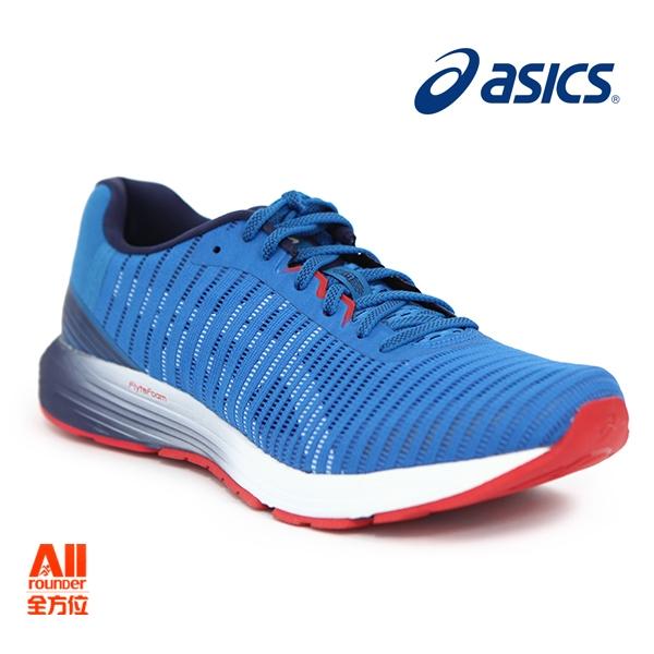 【asics亞瑟士】男款慢跑鞋 DynaFlyte 3 -藍紅色(1011A002400)全方位慢跑概念館