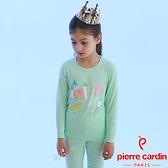 Pierre Cardin皮爾卡登 女兒童長袖衛生衣褲組(KD264062城堡)