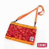 CHUMS 日本 SxN 多用途收納肩背包 花園印花 CH602405R079