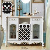 【大熊傢俱】KFD 9601 歐式 輕奢華 典雅 新古典 餐邊櫃 收納櫃 餐廳 碗盤櫃 酒櫃 客廳 餐廳