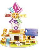 【2個裝】3D立體拼圖兒童益智力玩具