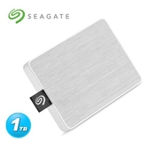 Seagate One Touch 1TB 外接SSD 晨霧白
