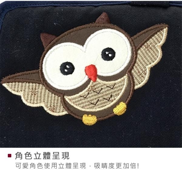 Kiro貓‧翱翔貓頭鷹長布夾/鈔票/卡片/零錢/多卡層 【221838】