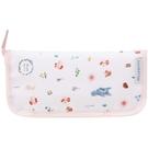 小禮堂 Hello Kitty 尼龍餐具收納包 (動物款) 4973307-49973