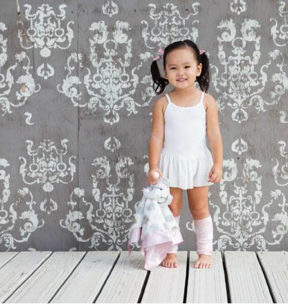 【美國 Little Giraffe】安撫巾 - 豪華大象系列嬰兒安撫巾(粉紅款) - LXDBLEPK