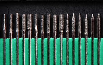 鑽石磨棒 綜合鑽石磨棒棒30入/3mm研磨/鑽孔/電動雕刻/拋光/除鏽/研磨機用 滾魔棒 金剛石