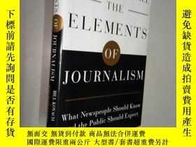 二手書博民逛書店The罕見Elements of Journalism: Wha