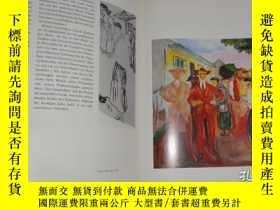 二手書博民逛書店2手德文罕見Edvard Munch 蒙克和他的模特畫冊 sdb