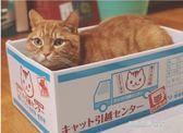 貓窩貓玩具貓抓板能磨爪的貓窩紙箱 底層貓抓板設計寵物紙盒房子  凱斯盾數位3C
