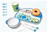 竹纖維兒童餐具套裝輔食寶寶餐盤嬰兒