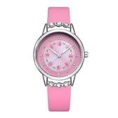 兒童手錶女孩防水石英錶中小學生女童女生錶可愛簡約潮流水腕錶WY【快速出貨】